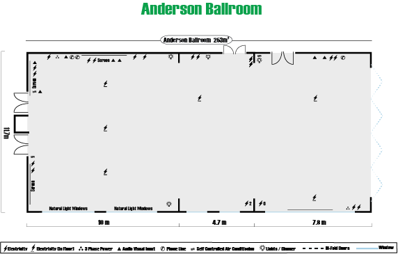ANDERSON BALLROOM FLOOR PLAN