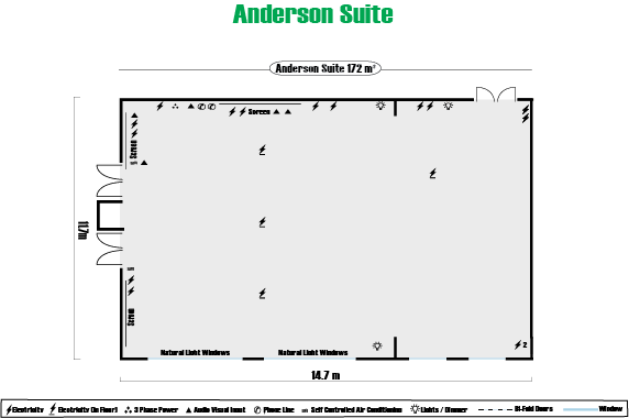 Anderson Suite Floor Plan